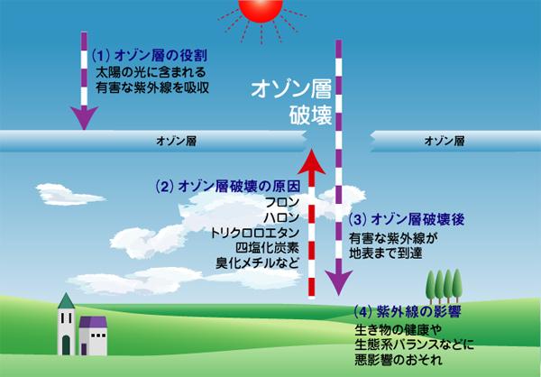 層 破壊 オゾン
